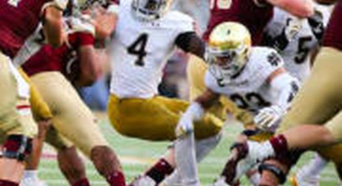 Notre Dame Linebackers Make Lott Impact Trophy Watch List