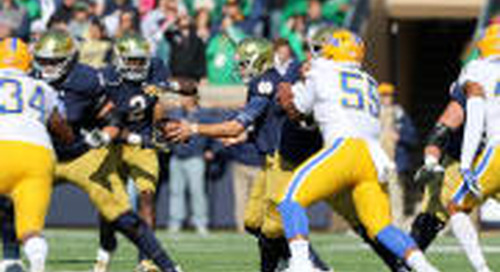 Notre Dame-Pitt, 3-2-1: Observations, Questions & Prediction