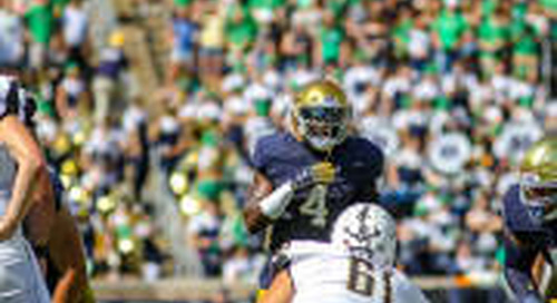 Notre Dame Defense Working On Linebacker Balancing Act