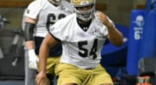 Notre Dame's Early Enrollment Players Reach 70 In 2020