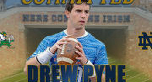 2020 QB Drew Pyne Commits To Notre Dame