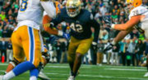 Game Balls: Notre Dame 19, Pitt 14