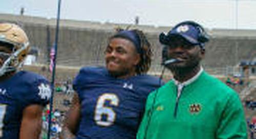 Tony Jones Jr. Becoming Vital Figure In Notre Dame Backfield