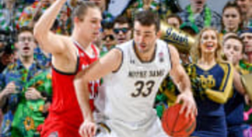 Irish Offense Falters Late in 77-73 Loss To NC State
