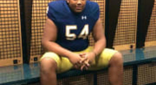Rivals Analyst On Notre Dame Commit Blake Fisher: 'Tall, Athletic And Lean'