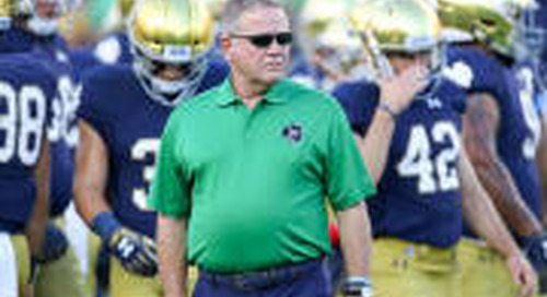 Brian Kelly Transcript: Notre Dame QB Situation Is 'Day To Day'