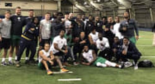 BGI Video: Notre Dame Pro Day Highlights