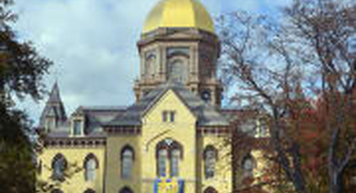 A Notre Dame Blast From The Past