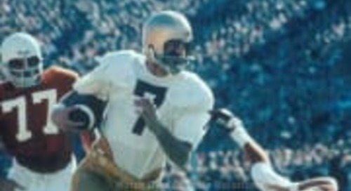 Lou's Confessions: 50 Years Of Notre Dame Quarterback Saviors