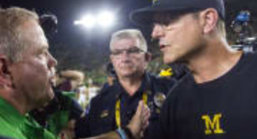 Lou's Confessions: Notre Dame-Michigan Is 'Big One' — For Now