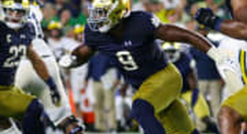 Notre Dame's 19 For '19: No. 15 Defensive End Daelin Hayes