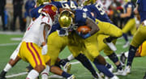 Notre Dame Notebook: Running Game Making And Taking Huge Steps