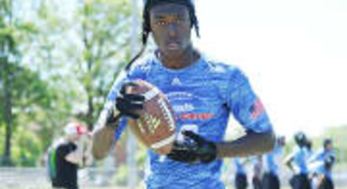 WR TJ Sheffield No Longer Committed To Notre Dame