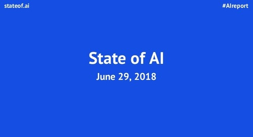 The State of Artificial Intelligence in 2018: A Good Old Fashioned Re…