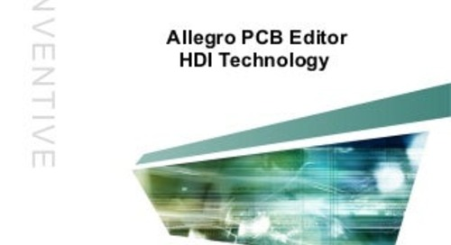 Slideshow: Allegro High Density Interconnect (HDI)