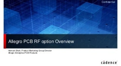 Slideshow: Allegro RF Option Overview