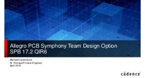 Slideshow: Allegro Symphony Team Design
