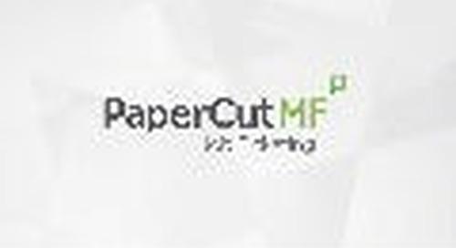 PaperCut Job Ticketing