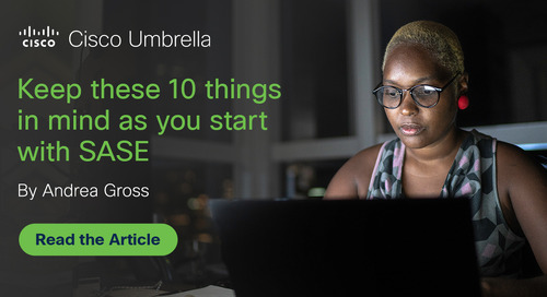 Keep these 10 things in mind as you start with SASE