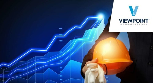 Viewpoint's Q1 2021 Quarterly Construction Metrics Index