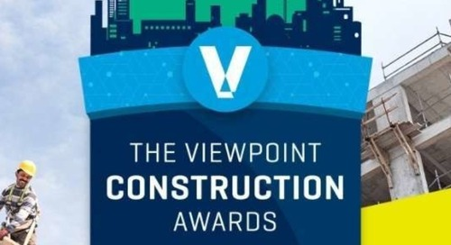 2021 Viewpoint Construction Awards Now Open