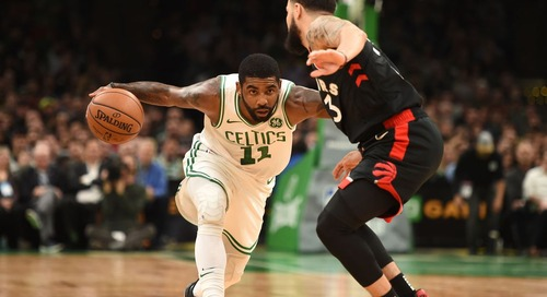 Kyrie Irving sends the Raptors home with a new problem to consider