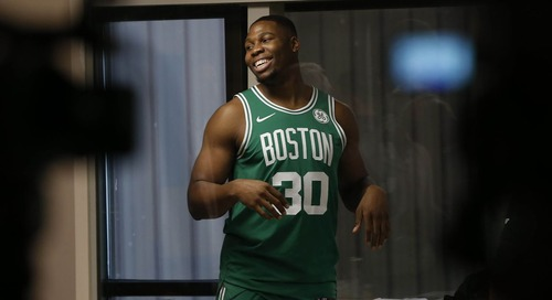 One last dance: Saying goodbye to Guerschon Yabusele