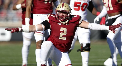 NFL mock draft: Patriots add a pass rusher from Boston College
