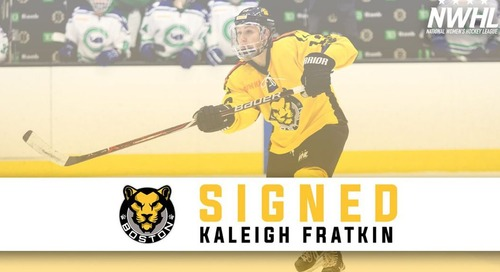 Kaleigh Fratkin Returns to the Pride