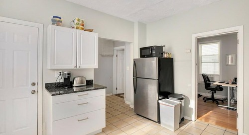 Big reveal: A three-bedroom with parking in Dorchester