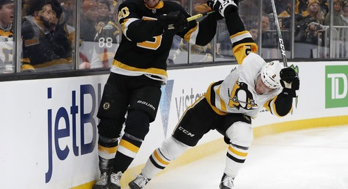 Preview: The Bruins hit the road for a matinee match-up against the Penguins