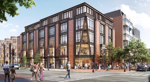Five-floor building could fill Newbury Street parking lot