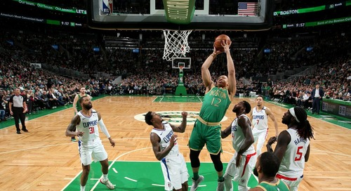 Grant Williams fitting in as Celtics small ball center
