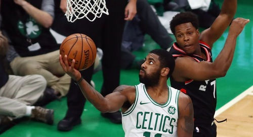 Kyrie Irving carries Boston to OT win and 13 other takeaways from Celtics/Raptors