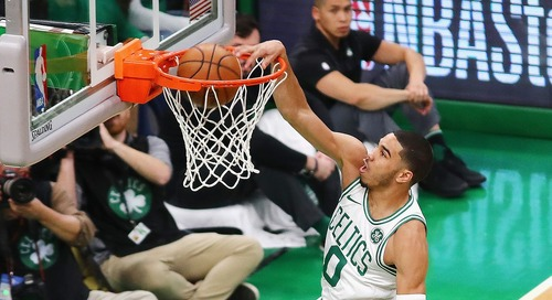 Despite early season struggles, Jayson Tatum shows why he's Celtics' number two in win over Raptors