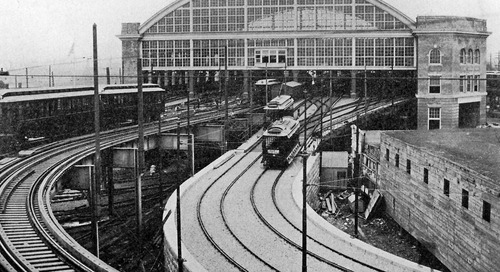 New Boston Elevated Railway map from 1925 shows how the system presaged the T