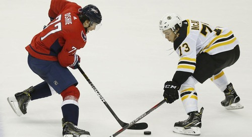 PREVIEW: Bruins host Capitals for second game of weekend back-to-back