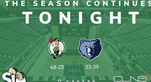 Boston Celtics Simulation vs. Grizzlies with Sean Grande and Max