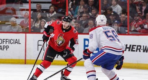 Bruins acquire Paul Carey from the Ottawa Senators