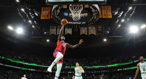 Celtics defense lags behind in loss to Pistons