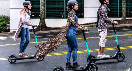 First e-scooter company announces it's pulling out of crowded Atlanta market