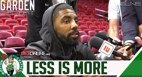 Kyrie Irving must learn to lead the Celtics on and off the court - The Garden Report