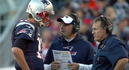 Josh McDaniels admits the Patriots are stealing (but it's not what you might think)