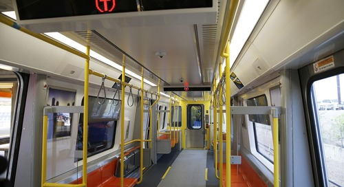 Look for new Orange Line cars in the early spring now