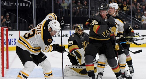 Rolling the dice as the Vegas Golden Knights come to town