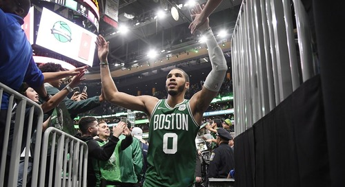 Jayson Tatum pledging donation in fight against COVID-19