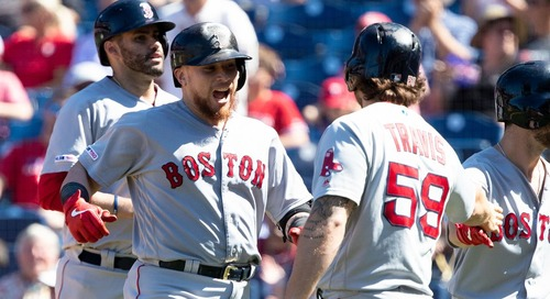 Red Sox 6, Phillies 3: Christian Vázquez with two dingers