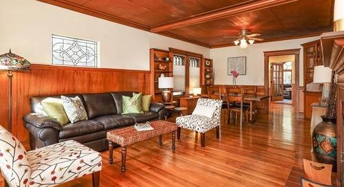 Woodsy West Roxbury bungalow wants $570,000
