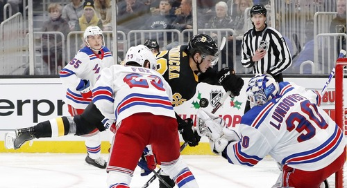Bruins vs. Rangers 2/16/20 PREVIEW: B's start their road trip in NYC