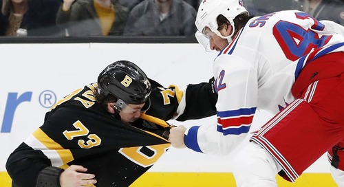Bruins vs. Rangers 2/16/20 GAMETHREAD